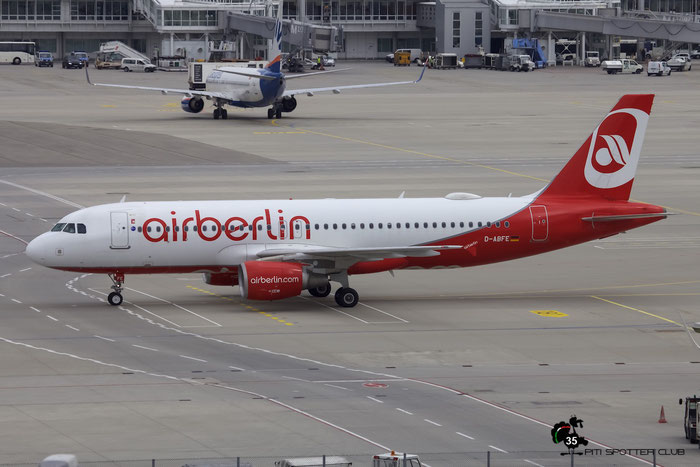 D-ABFE A320-214 4269 Air Berlin @ Munich Airport 15.05.2016 © Piti Spotter Club Verona