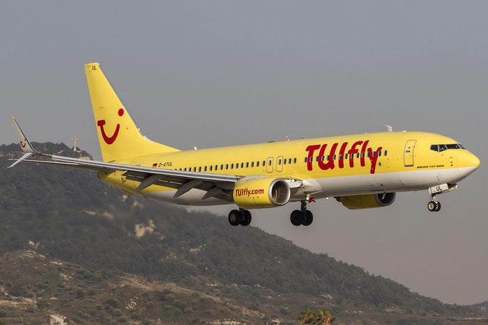 D-ATUL B737-8K5 38820/3653 TUIfly @ Rhodes Airport 11.07.2015 © Piti Spotter Club Verona