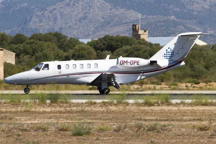 OM-OPE Ce525A 525A-0239 Opera Jet @ Rimini Airport 07.2014 © Piti Spotter Club Verona