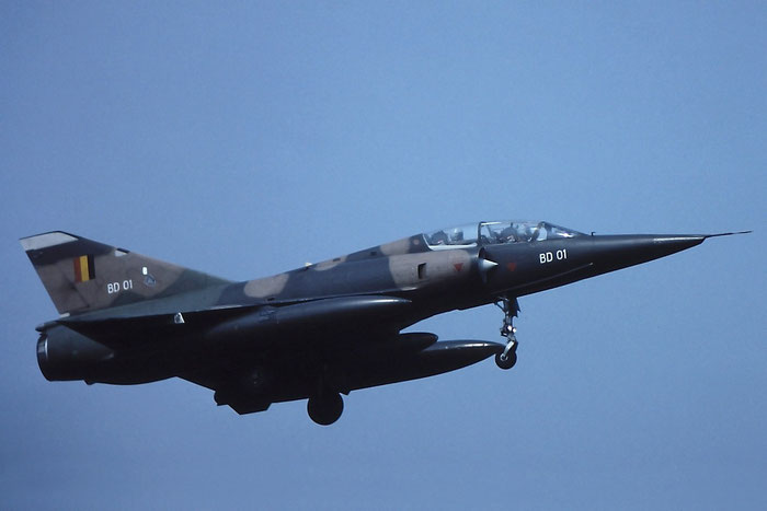 BD01   Mirage 5MirSIP  201 @ Aeroporto di Verona   © Piti Spotter Club Verona