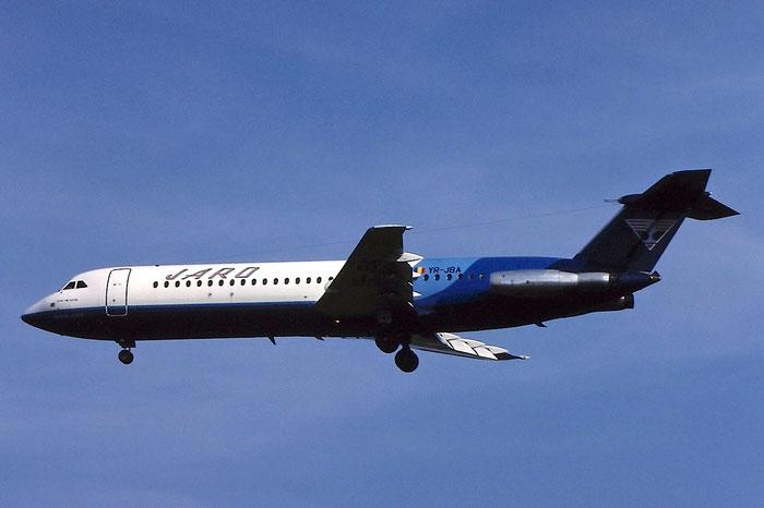 YR-JBA BAe111-528FL 234 JARO International Airlines @ Aeroporto di Verona © Piti Spotter Club Verona