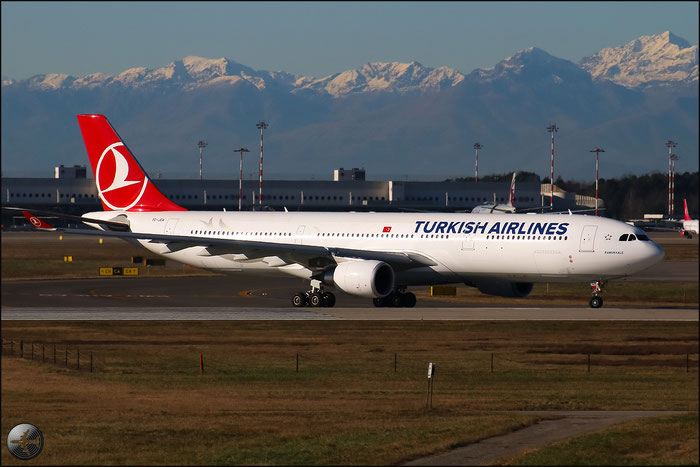 TC-JOA A330-303E 1501 Turkish Airlines - THY Türk Hava Yollari @ Milano Malpensa Airport 31.01.2015 © Piti Spotter Club Verona