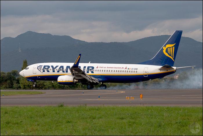 EI-DHB B737-8AS 33572/1652 Ryanair @ Bergamo Airport 16.10.2014 © Piti Spotter Club Verona