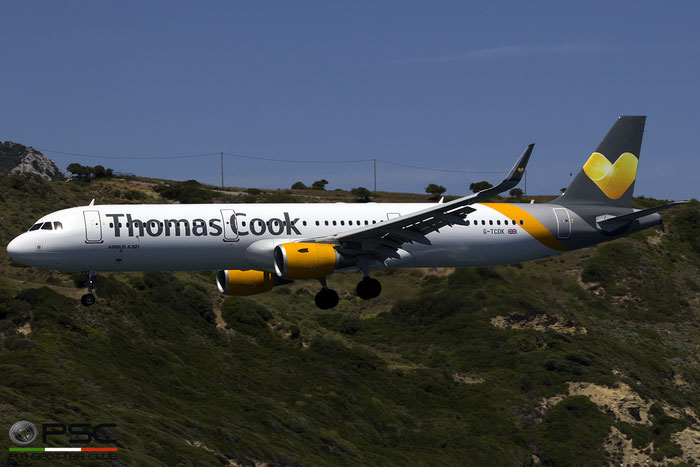 G-TCDK A321-211 6548 Thomas Cook Airlines @ Skiathos Airport 07.2017 © Piti Spotter Club Verona