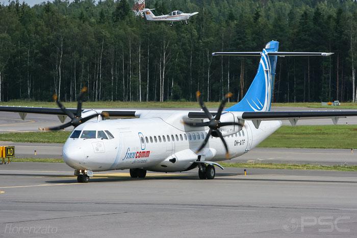 OH-ATF ATR72-212A 744 FinnComm Airlines @ Helsinki Airport 2008 © Piti Spotter Club Verona