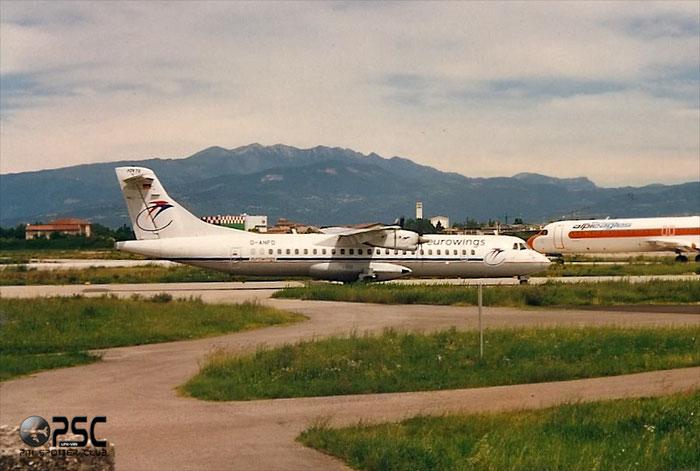 D-ANFD  ATR72-202  256  Eurowings  @ Aeroporto di Verona © Piti Spotter Club Verona