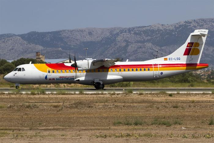 EC-LSQ ATR72-212A 1041 Air Nostrum @ Palma de Mallorca Airport 07.2014 © Piti Spotter Club Verona