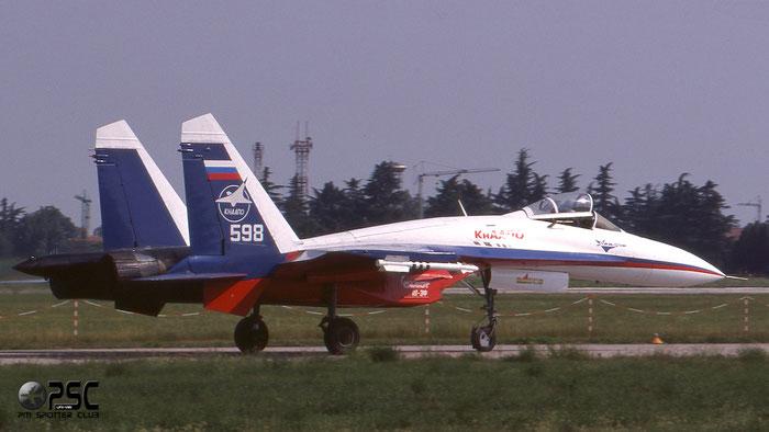 598 wh  Su-27PD  36911037820  KNAAPO @ Aeroporto di Verona   © Piti Spotter Club Verona
