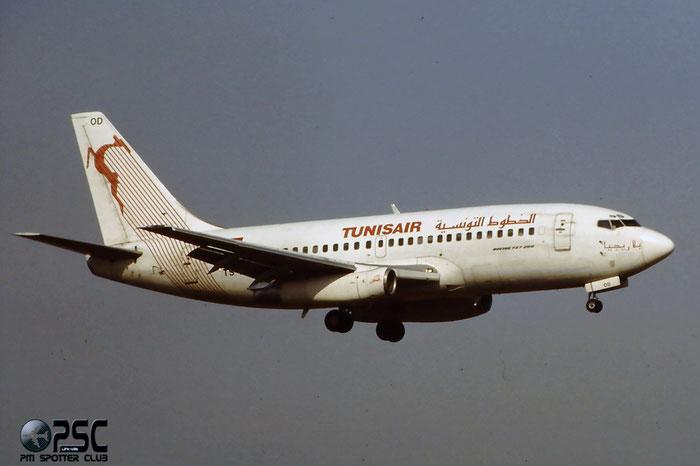 TS-IOD  B737-2H3C  21974/615  Tunisair  @ Aeroporto di Verona © Piti Spotter Club Verona