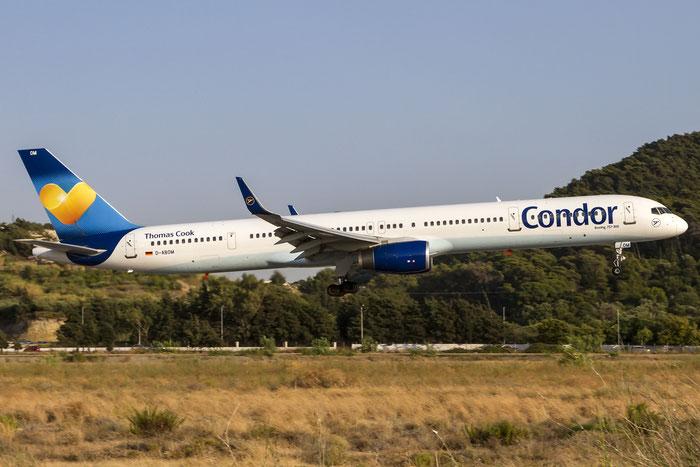 D-ABOM B757-330 29022/926 Condor Flugdienst @ Rhodes Airport 11.07.2015 © Piti Spotter Club Verona