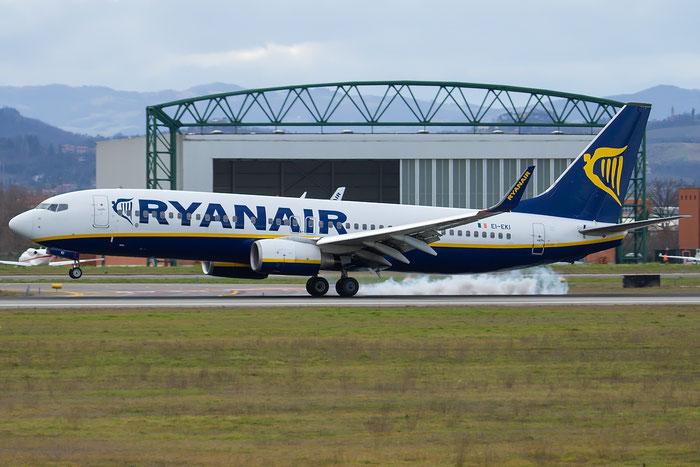 EI-EKI B737-8AS 38496/3168 Ryanair @ Bologna Airport 18.02.2016 © Piti Spotter Club Verona