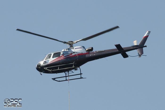 I-BMMB - Airline: LagorAir (Airway Helicopters) Aircraft: Eurocopter AS 350B3 Ecureuil @ Aeroporto di Bolzano © Piti Spotter Club Verona