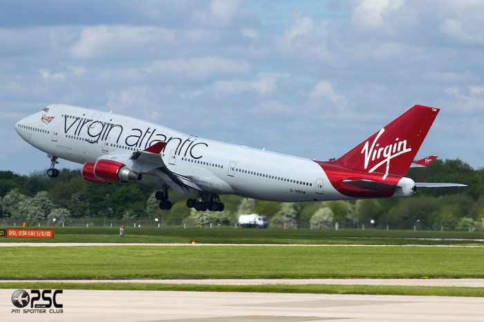 G-VROM B747-443 32339/1275 Virgin Atlantic Airways @ Manchester Airport 13.05.2014 © Piti Spotter Club Verona