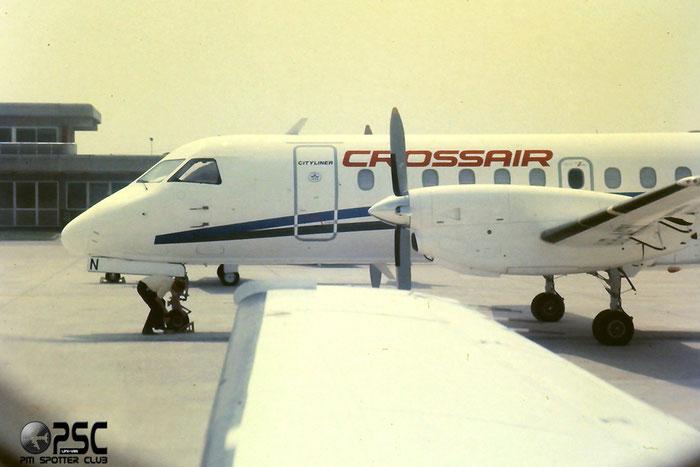 HB-AHN  Saab 340A  340A-088  Crossair  @ Aeroporto di Verona © Piti Spotter Club Verona