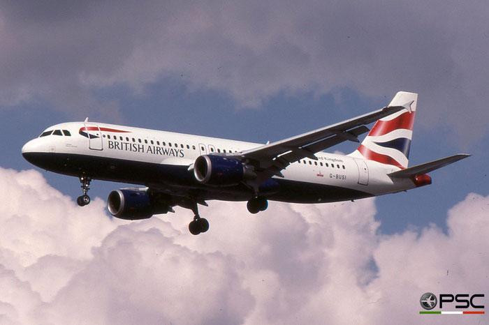 G-BUSI A320-211 103 British Airways © 2018 courtesy of Marco Ceschi - Piti Spotter Club Verona