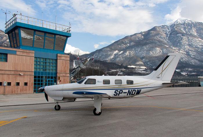 SP-NDW - Piper PA-46R-350T Matrix - Private @ Aeroporto di Trento © Piti Spotter Club Verona