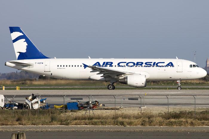 F-HZFM A320-216 5887 Air Corsica @ Venice Airport 17.03.2016 © Piti Spotter Club Verona