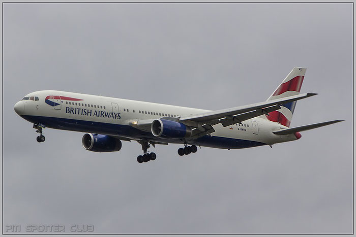 G-BNWZ B767-336ER 25733/648 British Airways @ Frankfurt Airport 22.10.2014  © Piti Spotter Club Verona