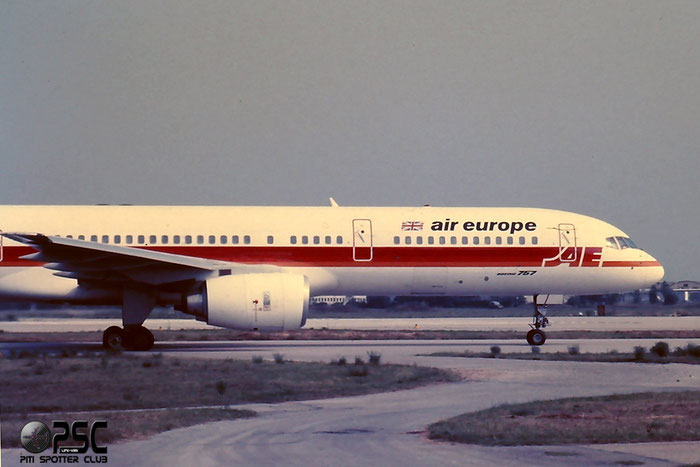 G-BRJJ  B757-236  24793/292  Air Europe  @ Aeroporto di Verona © Piti Spotter Club Verona