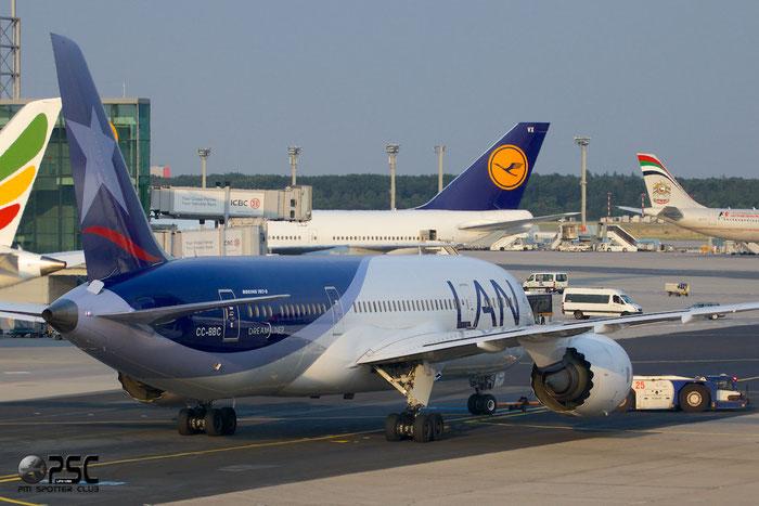 CC-BBC B787-8 38472/80 LAN Airlines @ Frankfurt Airport 25.07.2014 © Piti Spotter Club Verona