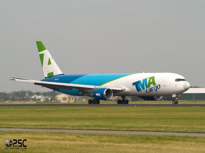 CS-TLZ B767-375ERSF 24086/248 TMA - Trans Mediterranean Airways @ Amsterdam Airport 20.09.2013 © Piti Spotter Club Verona