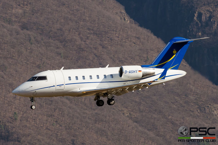 D-ASHY CL-605 5926 ProAir Aviation @ Aeroporto di Bolzano © Piti Spotter Club Verona