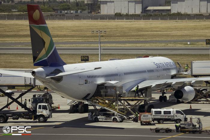 ZS-SXA A340-313E 544 South African Airways @ Cape Town International Airport 24.11.2017 © Piti Spotter Club Verona