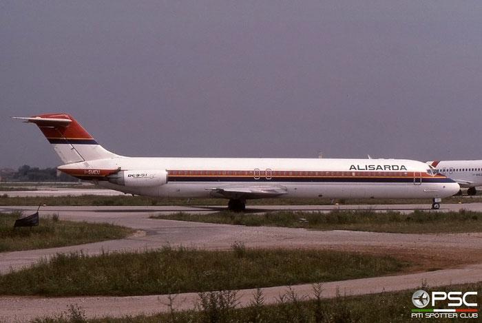 I-SMEU  DC-9-51  47715/825  Alisarda - Linee Aeree della Sardegna  @ Aeroporto di Verona © Piti Spotter Club Verona