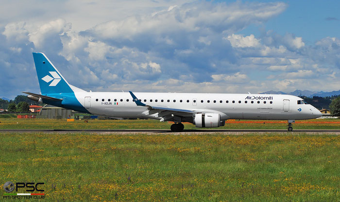 I-ADJN ERJ195LR 19000270 Air Dolomiti @ Aeroporto di Verona 04.2019  © Piti Spotter Club Verona
