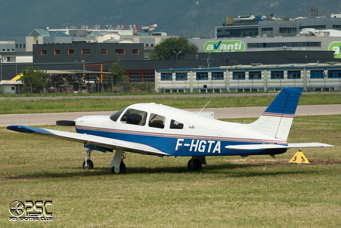 F-HGTA - Piper PA-28-180 Arrow @ Aeroporto di Bolzano © Piti Spotter Club Verona