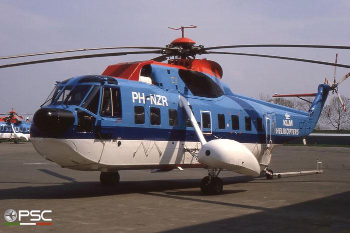 PH-NZR Sikorsky S-61N c/n 61808 - KLM Helikopters © 2017 courtesy of Marco Ceschi - Piti Spotter Club Verona