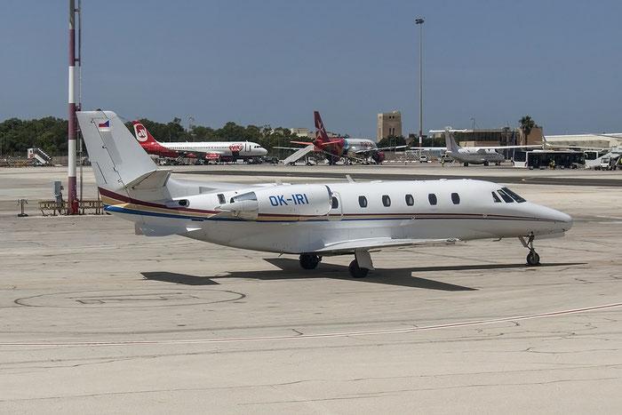 OK-IRI Ce560XLS 560-5723 Personal Air Transport Ltd. @ Malta Airport 08.2015 © Piti Spotter Club Verona