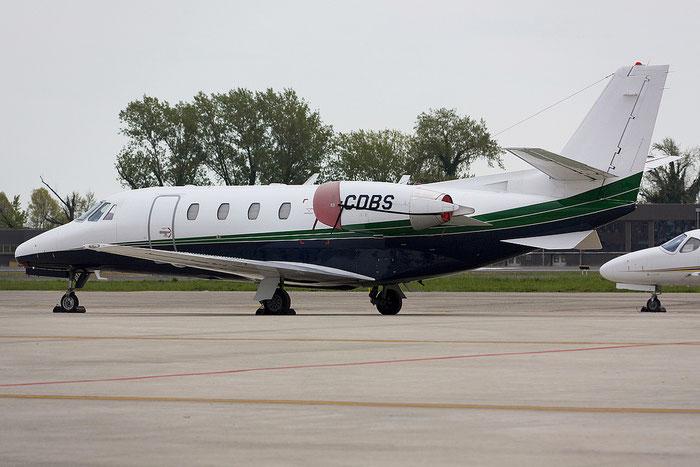 I-CDBS Ce560XL 560-5007 Euroaviation @ Treviso Airport 09.04.2012 © Piti Spotter Club Verona