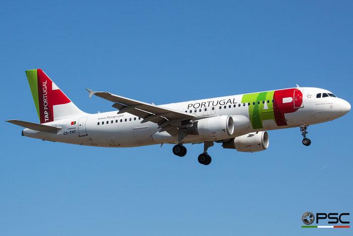 CS-TNT A320-214 4095 TAP Portugal - Transportes Aéreos Portugueses @ Bologna Airport 16.09.2015 © Piti Spotter Club Verona