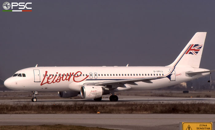 G-UKLL  A320-212  189  Leisure International Airways  @ Aeroporto di Verona © Piti Spotter Club Verona