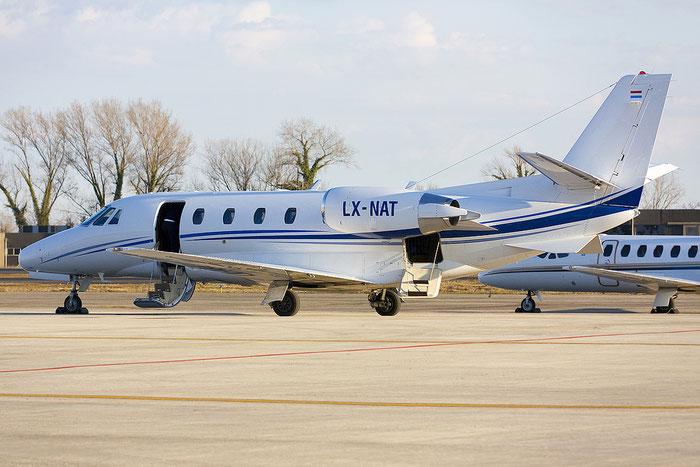 LX-NAT Ce560XLS 560-5564 Luxaviation SA @ Treviso Airport 28.02.2012 © Piti Spotter Club Verona