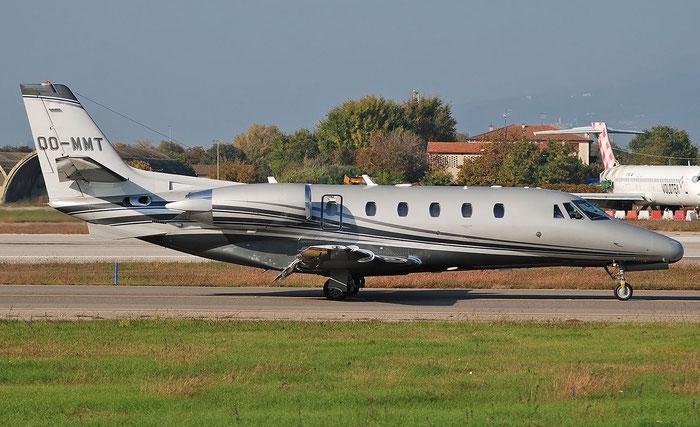 OO-MMT  Ce560XLS  560-5593  ASL - Air Service Liège  @ Aeroporto di Verona 11.2020  © Piti Spotter Club Verona
