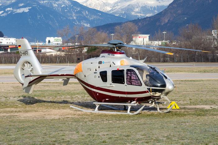 D-HIFI - Eurocopter EC135 - private @ Aeroporto di Bolzano © Piti Spotter Club Verona