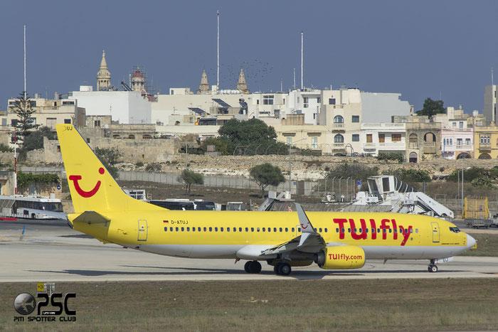 D-ATUJ B737-8K5 39923/4001 TUIfly @ Malta Airport 09.2014 © Piti Spotter Club Verona