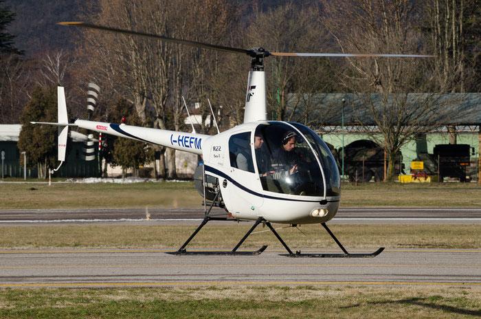 I-HEFM - Robinson R22B Beta II - Private @ Aeroporto di Bolzano © Piti Spotter Club Verona