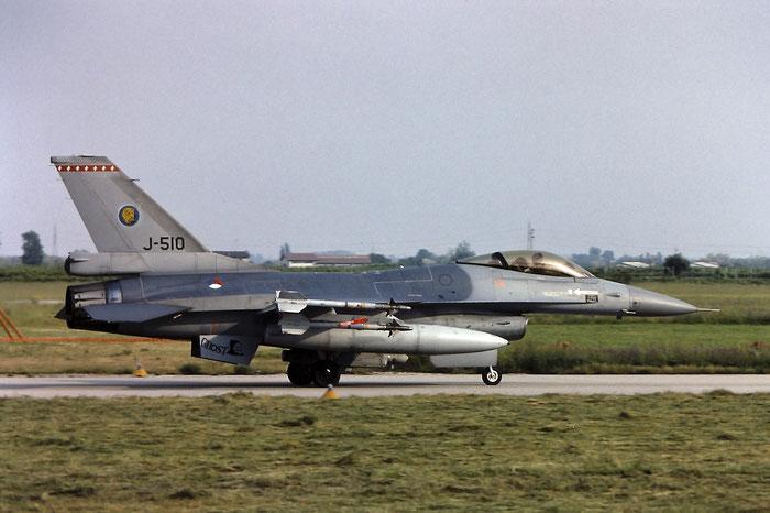 J-510   F-16AM  6D-149 @ Aeroporto di Verona   © Piti Spotter Club Verona