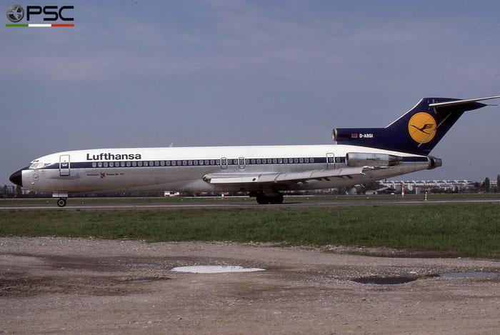 D-ABQI B727-230 20757/1002 Lufthansa © 2018 courtesy of Marco Ceschi - Piti Spotter Club Verona