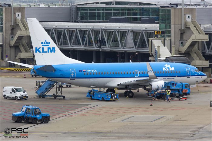 PH-BGH B737-7K2 38053/3119 KLM Royal Dutch Airlines  @ Amsterdam Airport - 09.2013  © Piti Spotter Club Verona