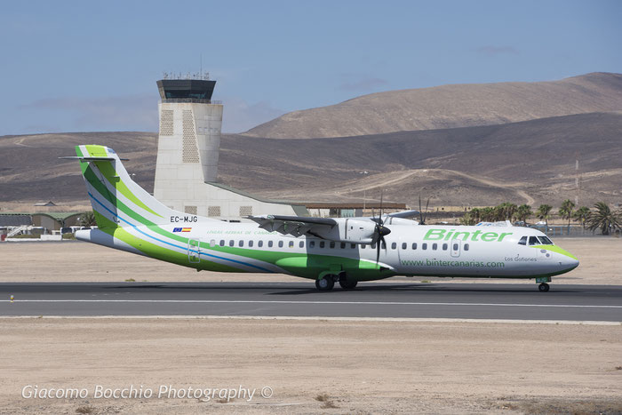 EC-MJG ATR72-212A 1310 Binter Canarias @ Fuerteventura Airport 08.2017 © Piti Spotter Club Verona