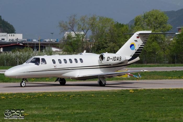 D-IDAS Ce525A (CJ2+) 525A-0443 Donau Air Service @ Aeroporto di Bolzano © Piti Spotter Club Verona