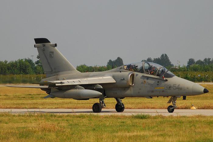 MM55039  32-54  AMX-T  IT014  Amendola (FG) @ Aeroporto di Verona   © Piti Spotter Club Verona