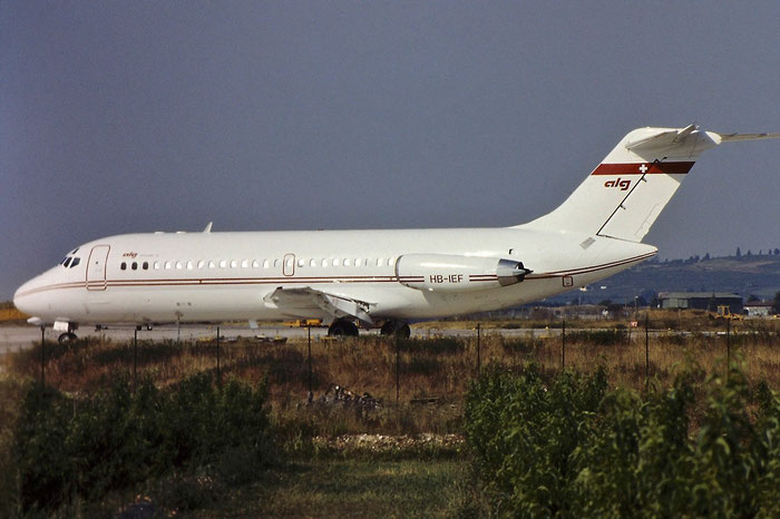 HB-IEF  DC-9-14  45702/15  Aeroleasing  @ Aeroporto di Verona © Piti Spotter Club Verona