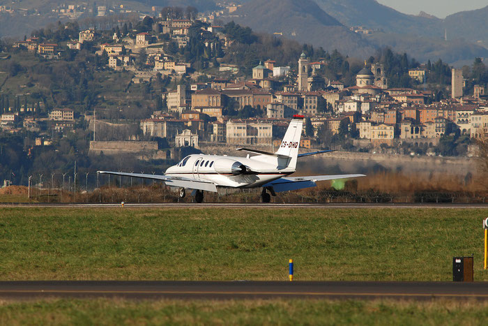 CS-DHQ Ce550 Bravo 550-1109 NetJets Europe @ Bergamo Airport 05.01.2015 © Piti Spotter Club Verona