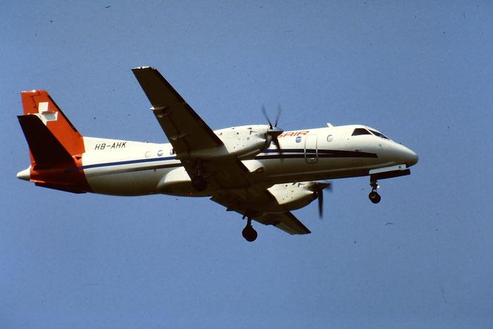HB-AHK  Saab 340A/QC  340A-049  Crossair @ Aeroporto di Verona © Piti Spotter Club Verona