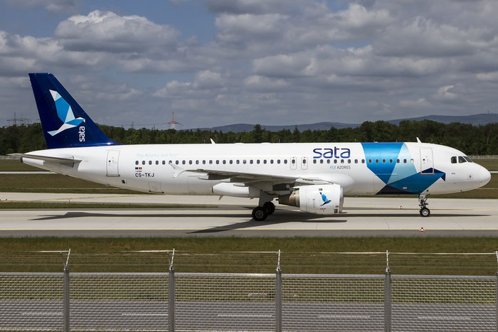 CS-TKJ A320-212 795 SATA Internacional - Serviço e Transportes Aéreos @ Frankfurt Airport 08.05.2015 © Piti Spotter Club Verona